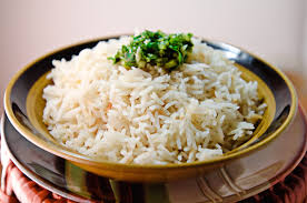 Basmati rice is perfect with