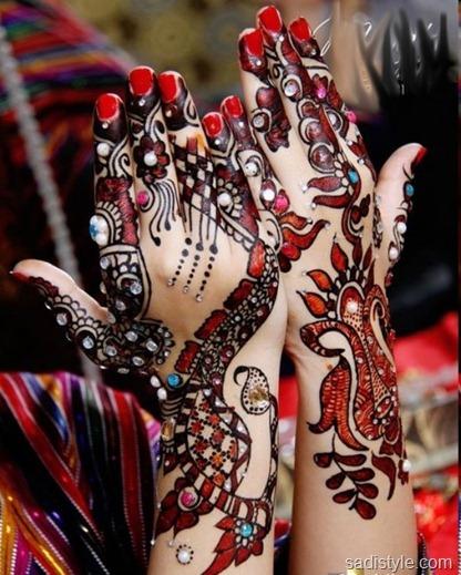 Bridal Mehndi Style
