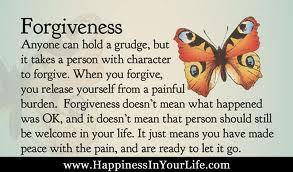 When you forgive, you release