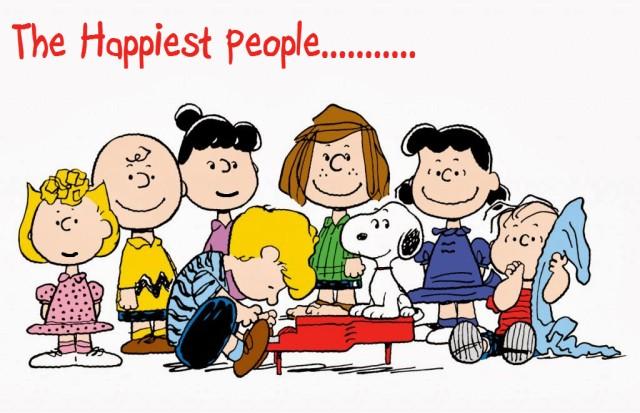 Peanuts_Characters-Happiest People Orlando Espinosa