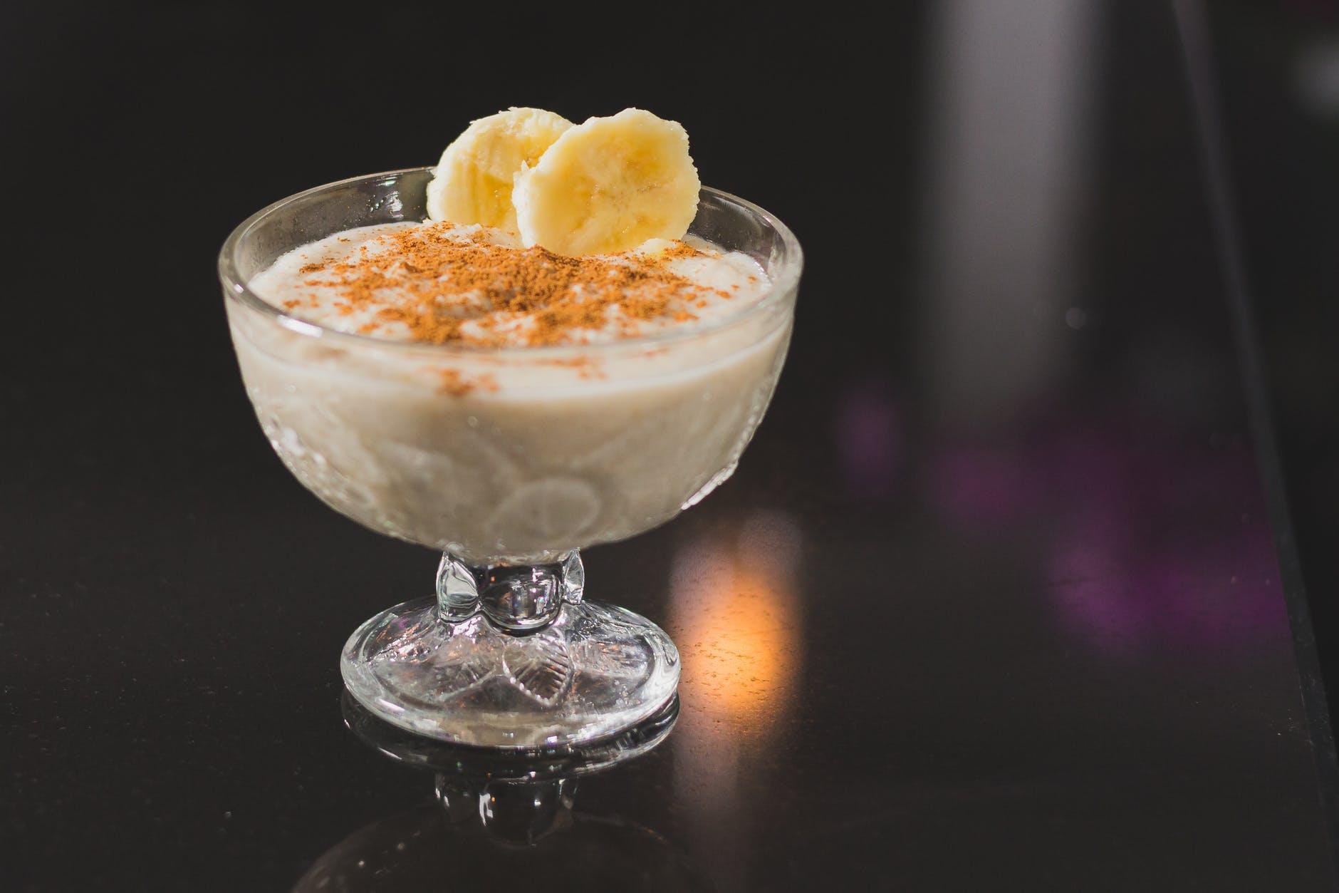 close up photo of dessert